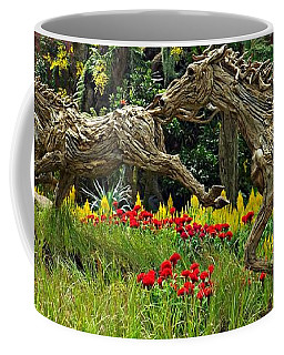 Time To Run Coffee Mug by Clare Bevan