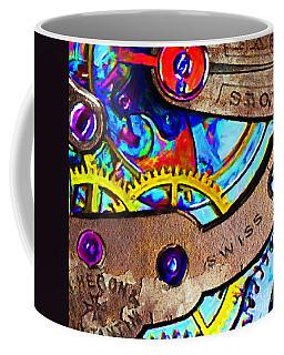 Time Waits For Nobody 20130605 Square Coffee Mug