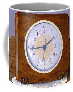 Coffee Mug featuring the painting Time Will Tell by Lynne Reichhart