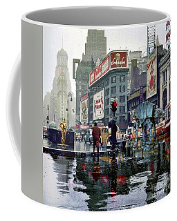 Times Square 1943 Reloaded Coffee Mug