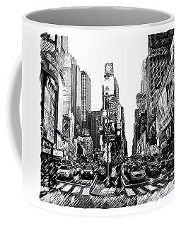 Times Square   New York City Coffee Mug