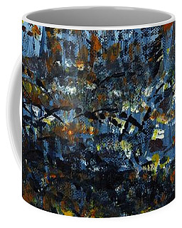 Tim's Autumn Trees Coffee Mug