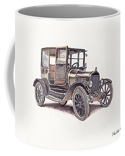 Tin Lizzie Ford Coffee Mug