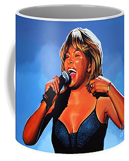 Tina Turner Queen Of Rock Coffee Mug
