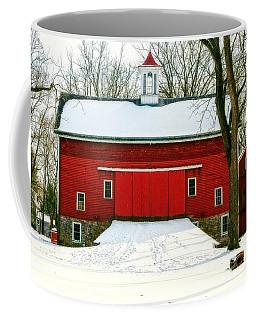 Tinicum Barn In Winter II Coffee Mug