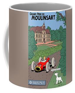 Tintin Grand Prix De Moulinsart 1965  Coffee Mug
