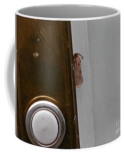 Tiny Doorbell Moth Coffee Mug