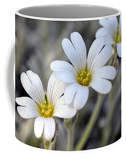 Tiny White Flowers #1 Coffee Mug