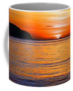 Tip Of The Sun Coffee Mug
