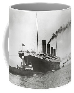 Titanic Ready For Her Maiden Voyage Coffee Mug
