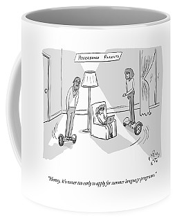 Title: Hoverboard Parents. Parents Riding Coffee Mug