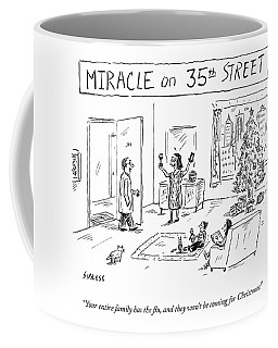 Title: Miracle On 35th Street. A Family Coffee Mug
