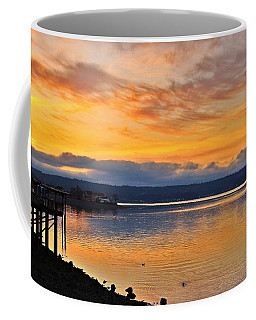 Coffee Mug featuring the photograph Titlow Beach by Lynn Hopwood