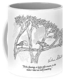 To Be A ?amingo Coffee Mug