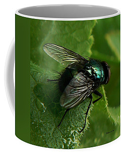 To Be The Fly On The Salad Greens Coffee Mug
