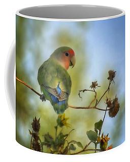 To Love A Lovebird Coffee Mug