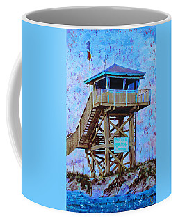 Coffee Mug featuring the painting To The Beach by Deborah Boyd