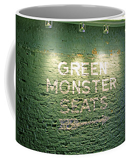 To The Green Monster Seats Coffee Mug