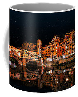 To The Right Of Ponte Vecchio #3 Coffee Mug
