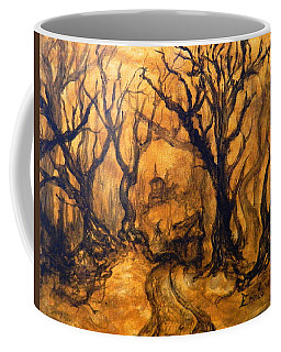Toad Hollow Coffee Mug by Christophe Ennis