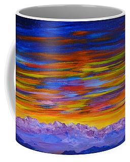 Tobacco Root Mountains Sunset Coffee Mug