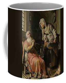 Tobit And Anna With The Kid Coffee Mug