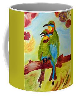 Together Coffee Mug by Meryl Goudey