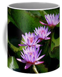 Together We Bloom - Violet Lily Coffee Mug