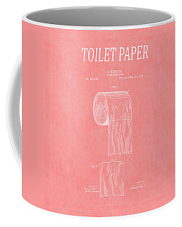Toilet Paper Patent 3 Coffee Mug