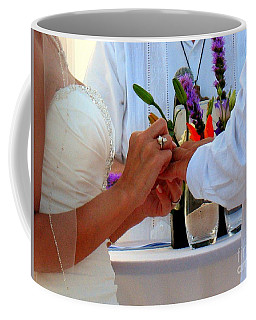 Token Of Love In The Islands Coffee Mug by Patti Whitten