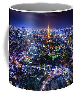 Tokyo Dreamscape Coffee Mug by Midori Chan