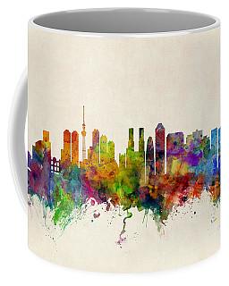 Tokyo Skyline Coffee Mugs