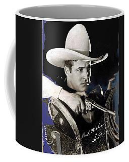 Tom Mix Portrait Melbourne Spurr Hollywood California C.1925-2013 Coffee Mug