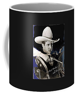 Tom Mix Portrait Melbourne Spurr Hollywood California C.1925-2013 Coffee Mug