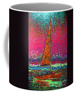Tom Ray's Sailboat 3 Coffee Mug by First Star Art