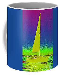Tom Ray's Sailboat Coffee Mug by First Star Art