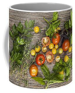Tomatoes And Herbs Coffee Mug