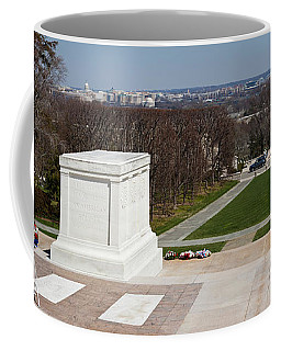 Tomb Of A Soldier In A Cemetery Coffee Mug