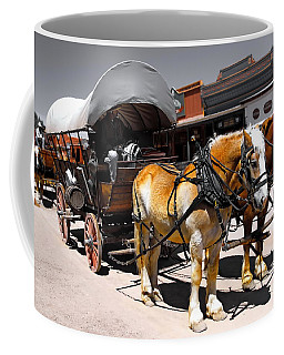 Tombstone Wagon Coffee Mug