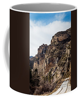 Coffee Mug featuring the photograph Tongue River Canyon by Michael Chatt