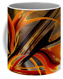 Tongues Of Fire Coffee Mug by Roy Erickson