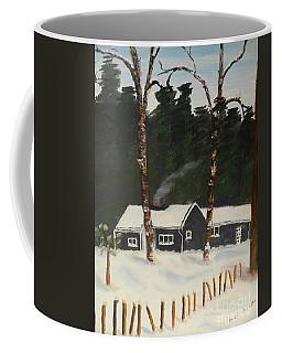 Tonys House In Sweden Coffee Mug