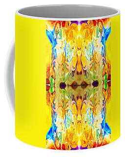 Tony's Tower Abstract Pattern Artwork By Tony Witkowski Coffee Mug