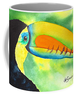 Coffee Mug featuring the painting Tookey  by Diane DeSavoy