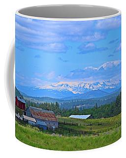 Topless Coffee Mug by Lynn Hopwood