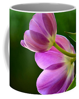 Topsy-turvy Tulips Coffee Mug by Deb Halloran