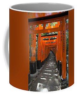 Torii Gates Of Inari Shrine Coffee Mug