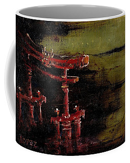 Torii Coffee Mug by Julio Lopez