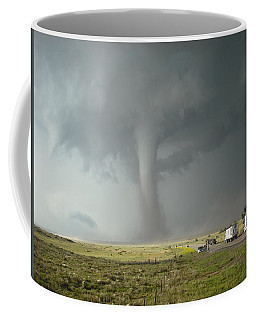 Tornado Truck Stop Coffee Mug by Ed Sweeney