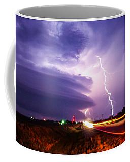 Tornado Warning In Northern Buffalo County Coffee Mug